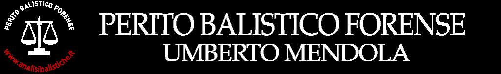 Perito Balistico Forense Umberto Mendola
